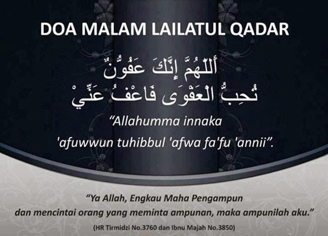 Tips Lailatul Qadar