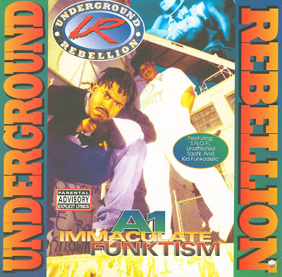 Underground Rebellion – A1 Immaculate Funktism (CD) (1995) (320 kbps)