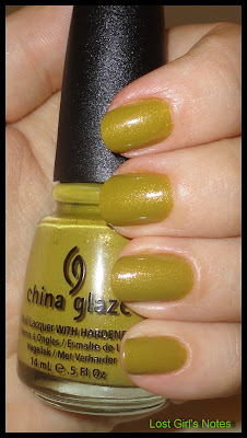 china glaze metro collection fall 2011 trendsetter swatch