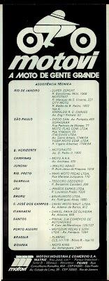 propaganda moto Motovi - 1978