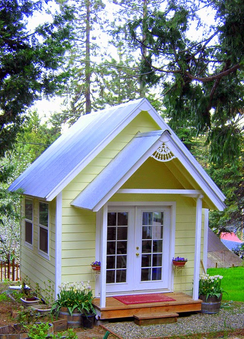 Wake up wednesday 59 the organized dream - Cottage garden shed pictures ...