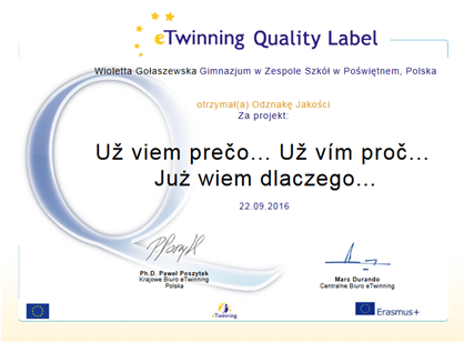 Quality Label PL