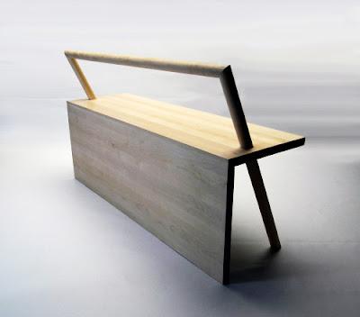 Bangku Minimalis Dengan Desain Eksentrik 2