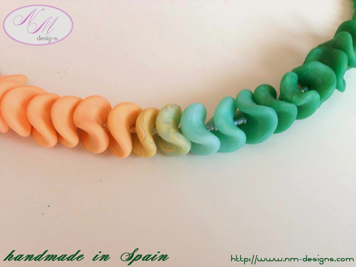 Mezclando colores con FIMO/Color Mix with FIMO