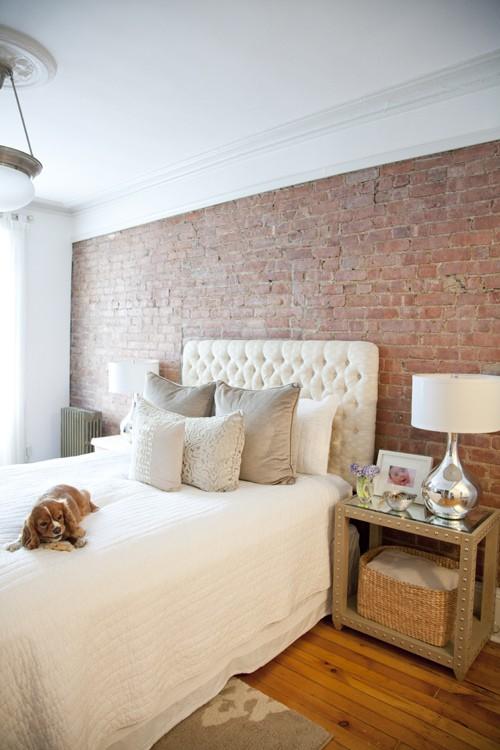 a deco elementos de dise o ladrillo a la vista. Black Bedroom Furniture Sets. Home Design Ideas