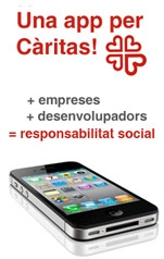 """Imatge del concurs """"Una app per Càritas!"""""""