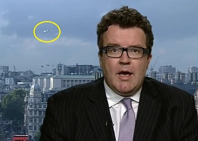 UFO Interrupts British News Broadcast