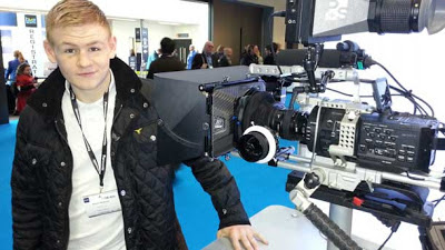 Kev at BVE North in Manchester