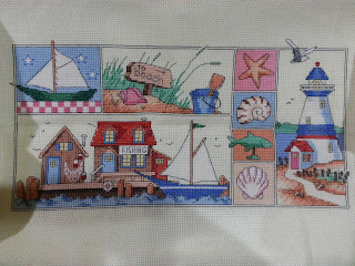 Dimensions High Tide Cross Stitch