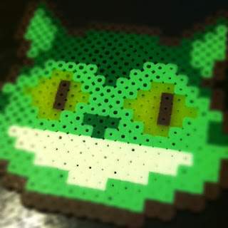 DIY, catbus totoro craft, perler bead coasters, hama coasters, things to do with hama perler beads