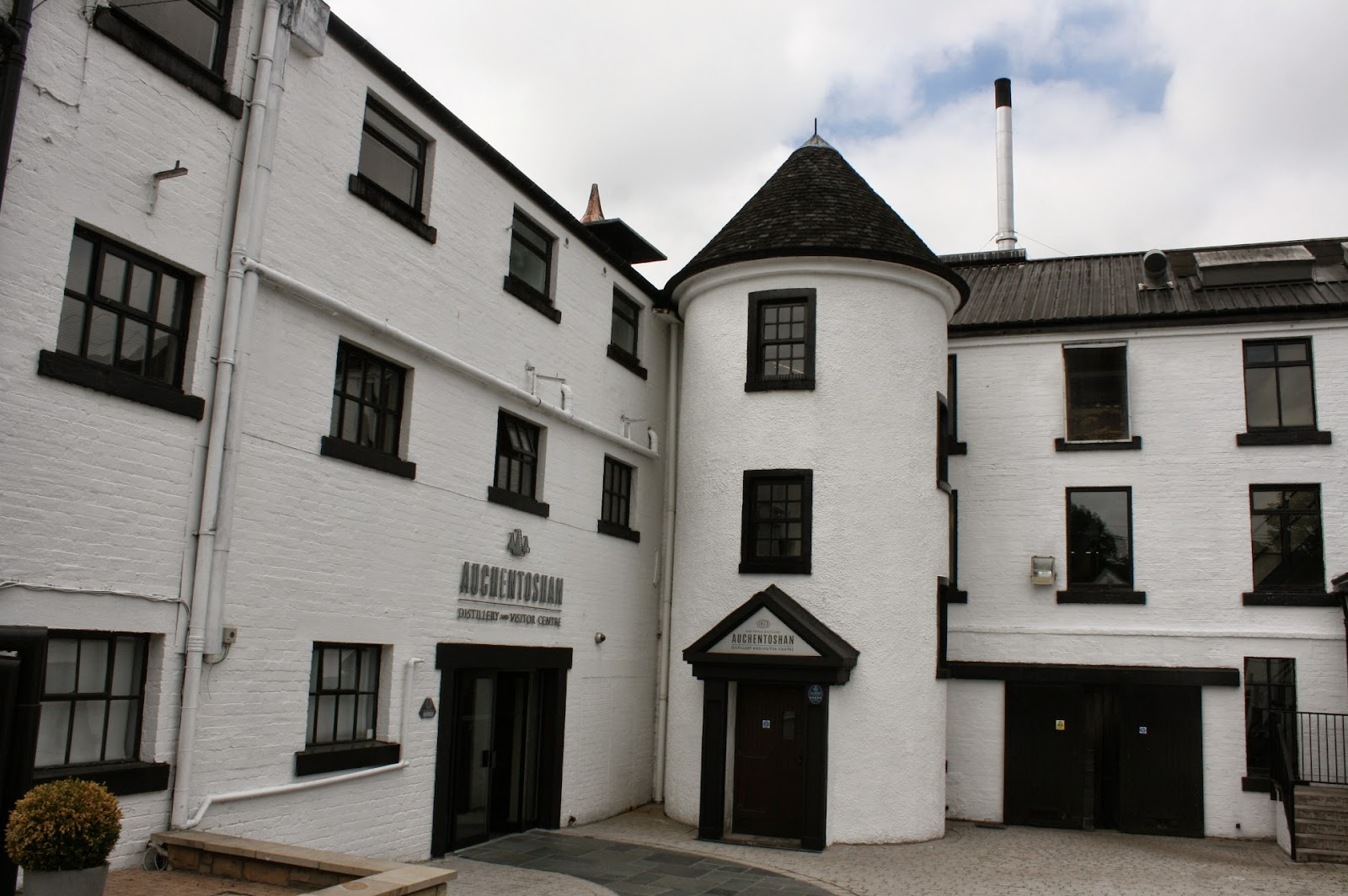 Auchentoshan Scotch whiskey distillery