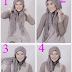 Cara Memakai Jilbab Model Paris Terbaru