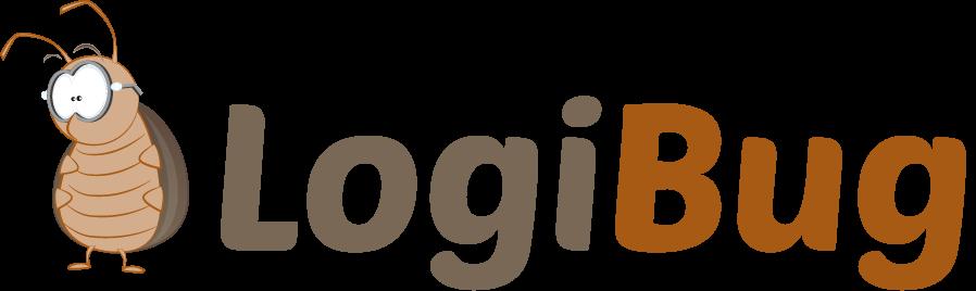Création du Logo Logibug pour Apps (Applications) pour les Professionnels de l'Hygiène, de la dératisation, de la sésinsectisation et de la désinfection par Label communication Nantes