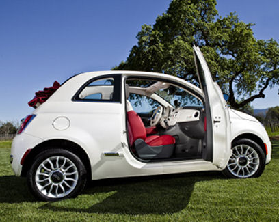 Fiat 500 Usa. New Fiat 500 Cabrio released