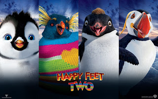 Happy Feet Two Sweet Penguins HD Poster Wallpaper