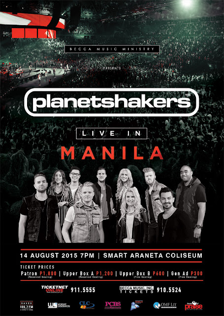 Planetshakers Live in Manila August 2015