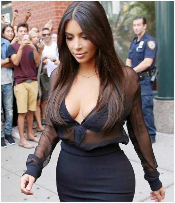 Jom Tengok Reaksi Polis Ini Apabila Melihat Punggung Kim Kardashian