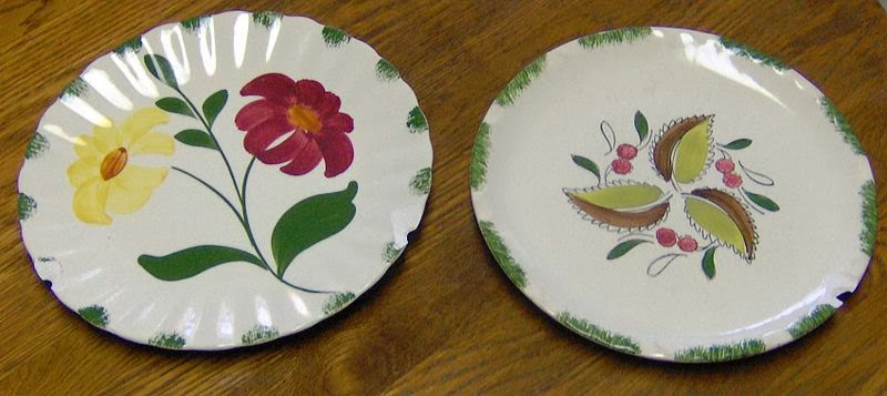 Blue Ridge dishware collectibles from Erwin TN circa 1930s