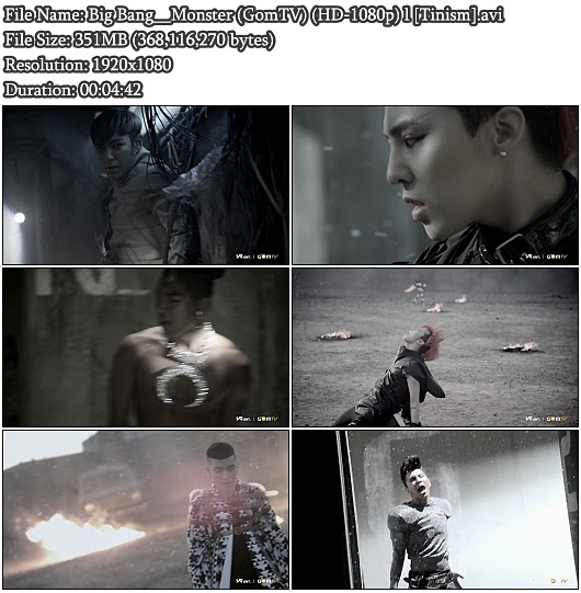 Download MV Big Bang - Monster (GomTV Full HD 1080p)