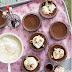Chocolate and Hazelnut Puddings recipe