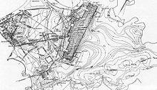 Map of World War 2 Gun Emplancement Nahant Mass