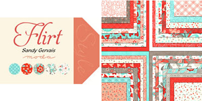 Moda FLIRT Quilt Fabric by Sandy Gervais
