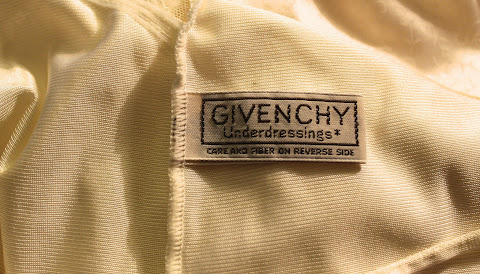 vintage Givenchy Underdressings label