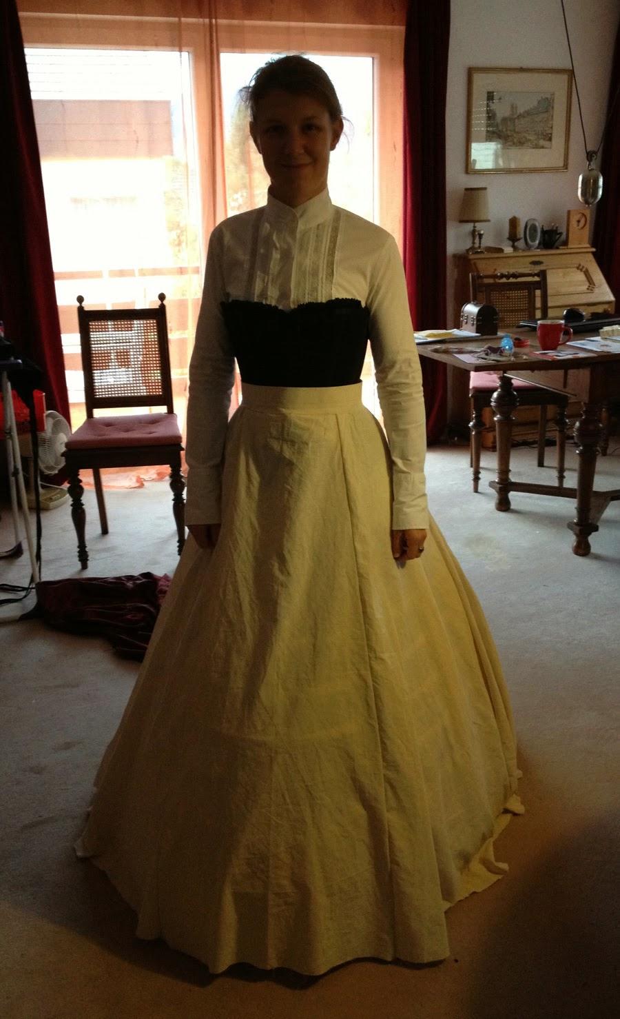 Ladies under Steam *: Ein Hochzeitskleid entsteht (Teil II)