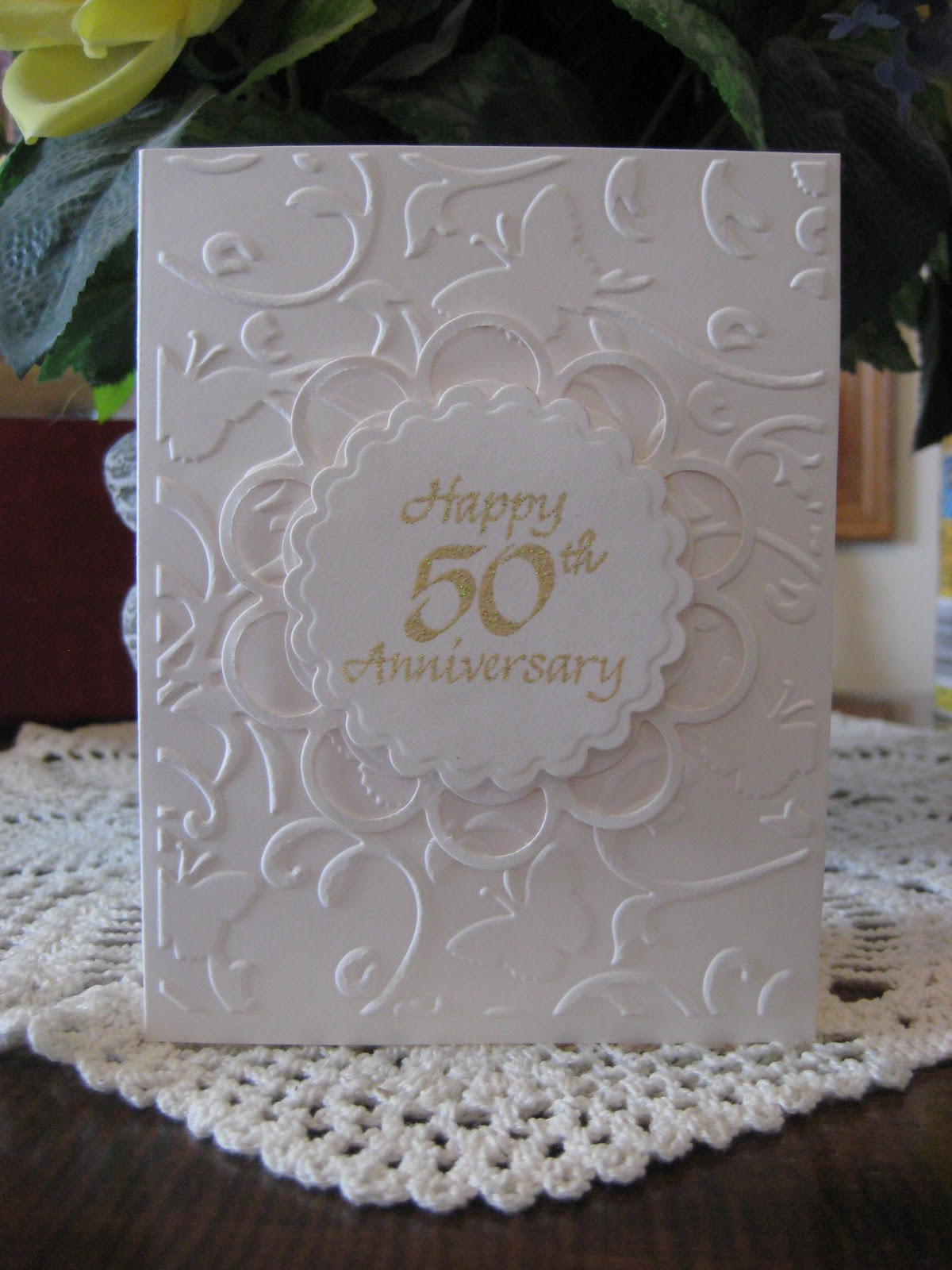 1000 Ideas About 50th Anniversary Cards On Pinterest