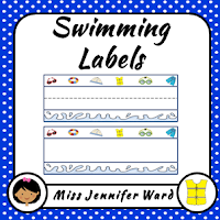 https://www.teacherspayteachers.com/Product/Swimming-Theme-Labels-540081