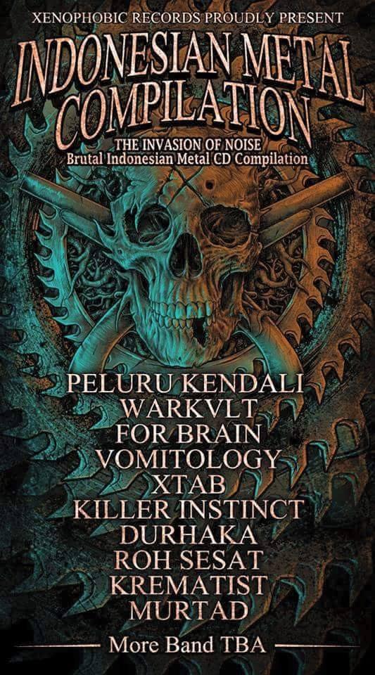 PREPARE Untuk THE INVASION OF NOISE Brutal Indonesian Metal CD Compilation !!!
