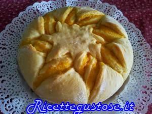 pan brioche light con marmellata di arance