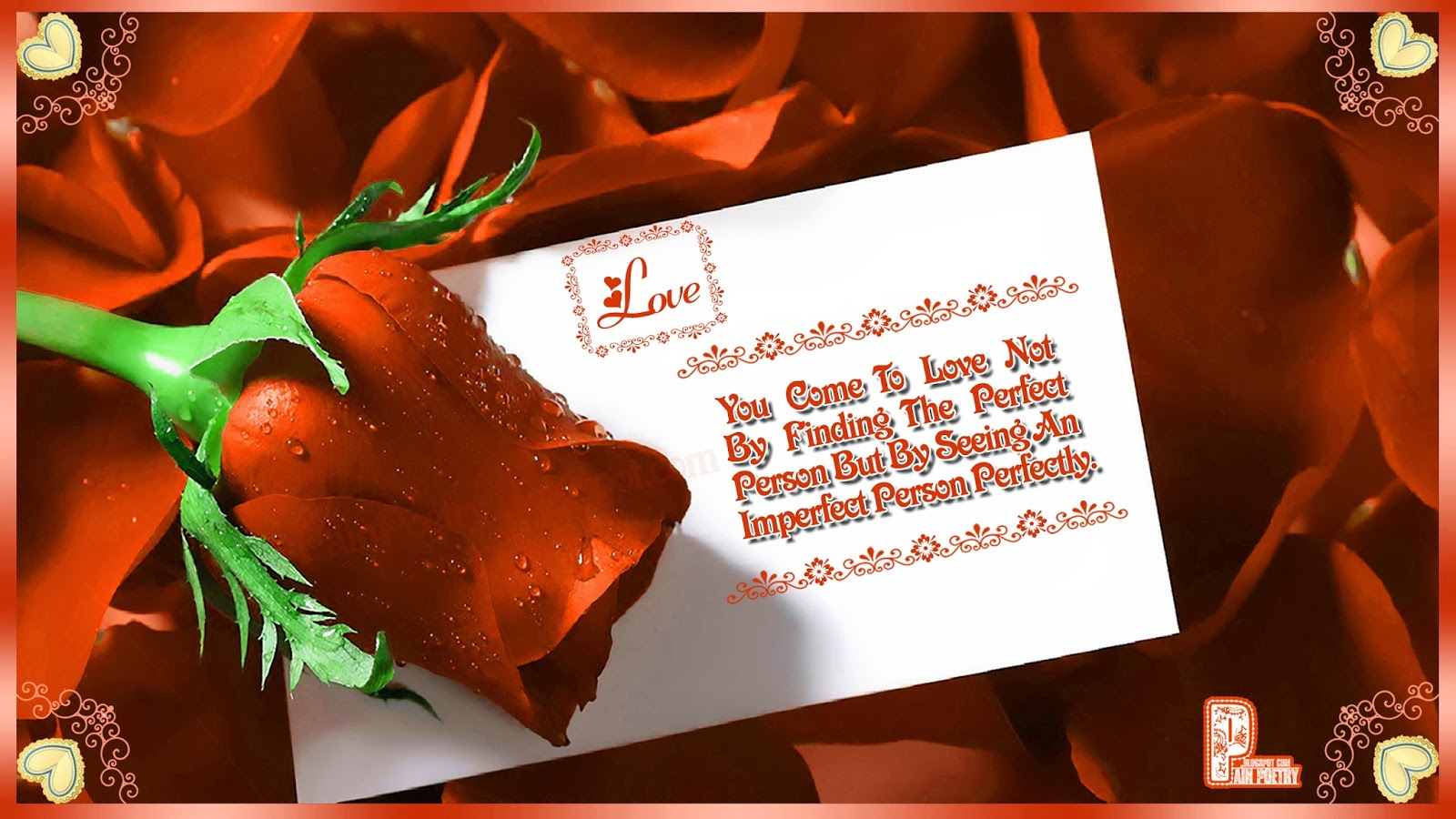 Love-Greetings-Quote-For-Friend-With-Red-Rose-Image-Photo-Wallpaper-HD
