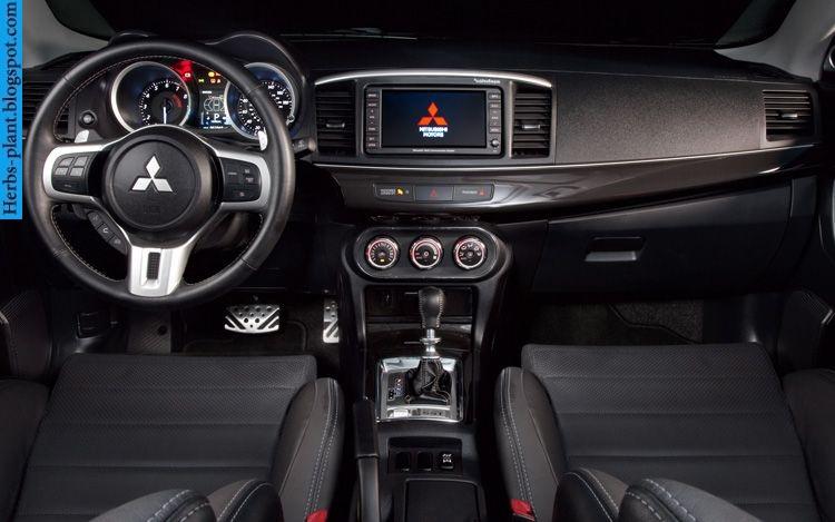 Mitsubishi evolution car 2013 dashboard - صور تابلوه سيارة ميتسوبيشى ريفلوشن 2013