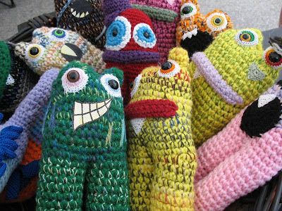 discontinued monsters at Knot By Gran'ma