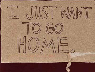MY LIFE!: Wanna Go Home