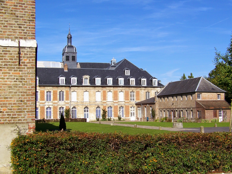 La somme ici et l amiens l 39 abbaye saint acheul for Plan d amiens