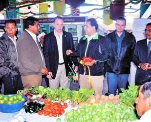 Feria con 160 pequeños empresarios