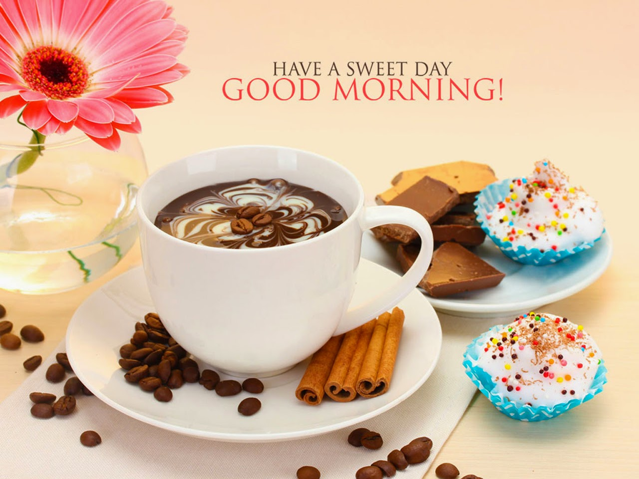 Good morning sms and messages with coffee flower wallpapers poetry good morning sms and messages with coffee flower wallpapers kristyandbryce Choice Image