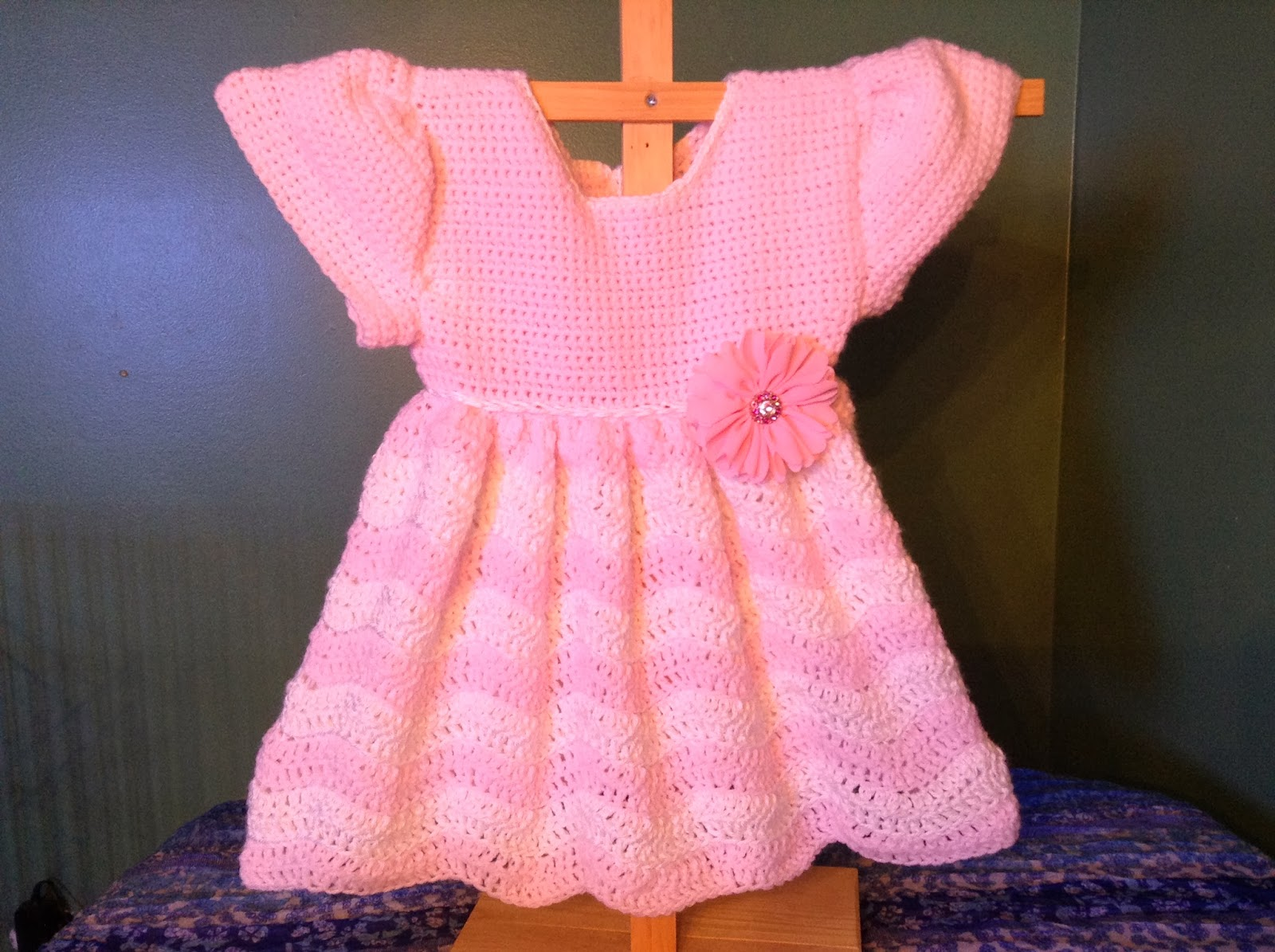 Anna\'s Free Baby Crochet Dress Patterns - Inspiration and Ideas