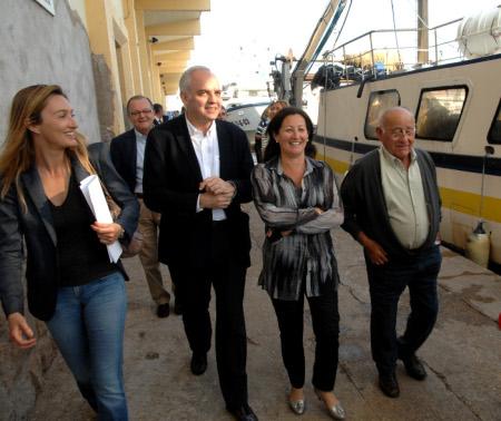 Maritina Hernández: 'El proyecto de ley de Pesca Sostenible del Gobierno atenta contra la estructura social y económica que vertebra la pesca en la Comunitat'