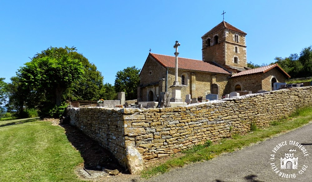 GREVILLY (71) - Église Saint-Martin