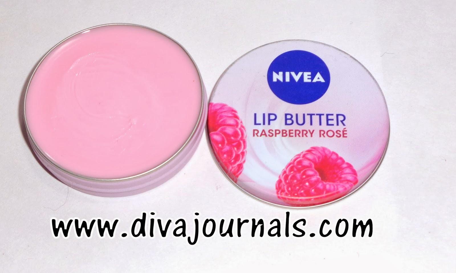 Nivea Lip Butter Raspberry Rose Caramel Cream Review Diva Journals