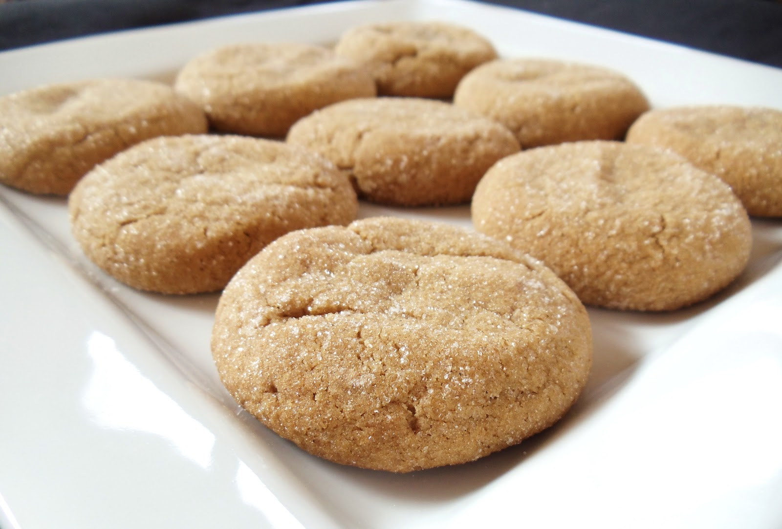 All Food Considered: Old Fashioned Spicy Chewy Ginger Cookies