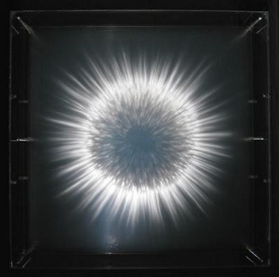Pinturas 3D sobre vidrio - 3