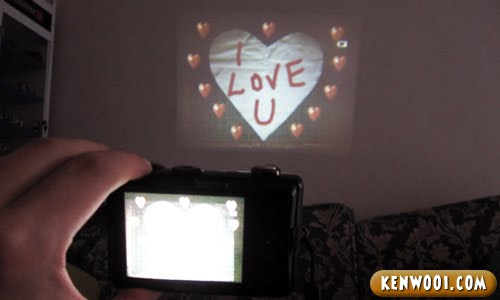 nikon coolpix s1100pj projector love