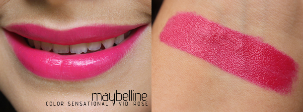 maybelline color sensational vivids vivid rose review swatches
