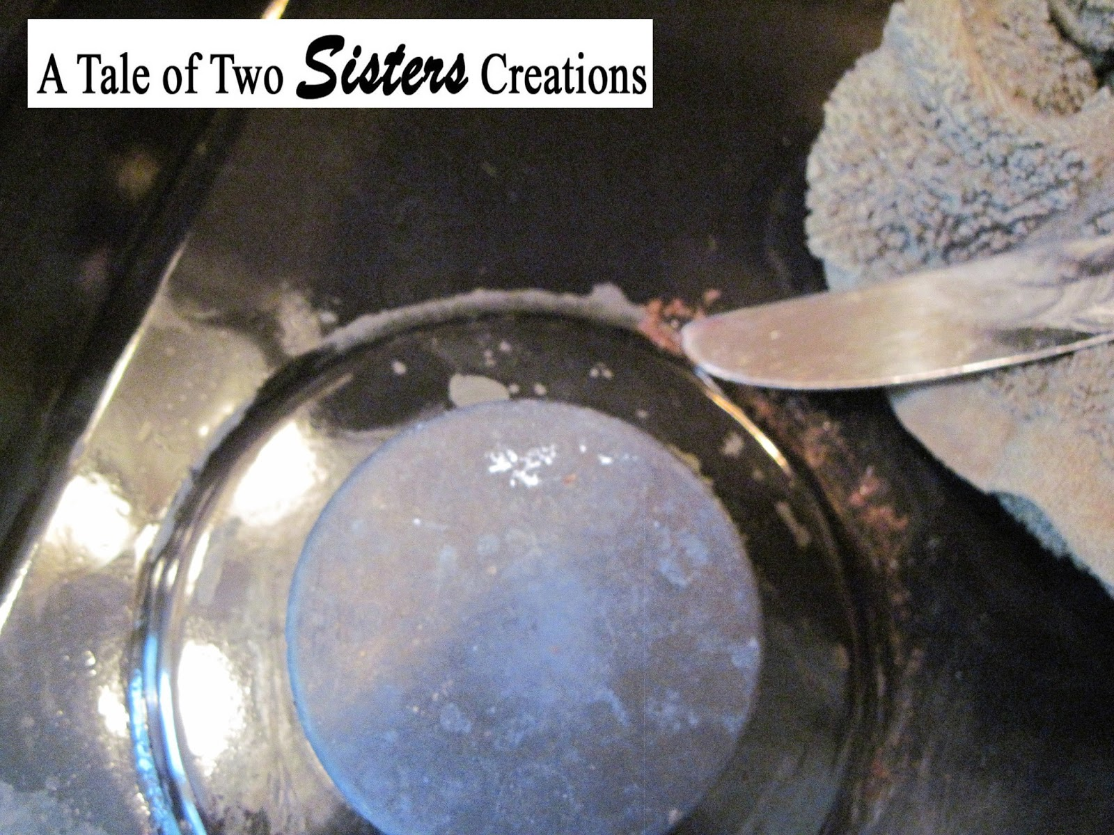 how to clean burnt sugar off stove top