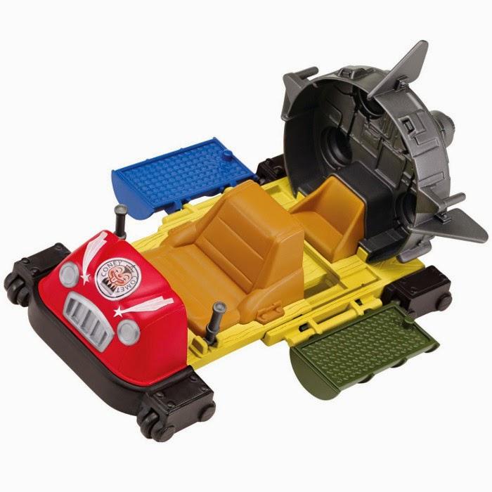 JUGUETES - LAS TORTUGAS NINJA | TMNT  T-Rawket | Vehículo   Teenage Mutant Ninja Turtles  Toys 2015 | Producto Oficial Serie Nickelodeon | Playmates  A partir de 4 años | Figuras se venden por separado