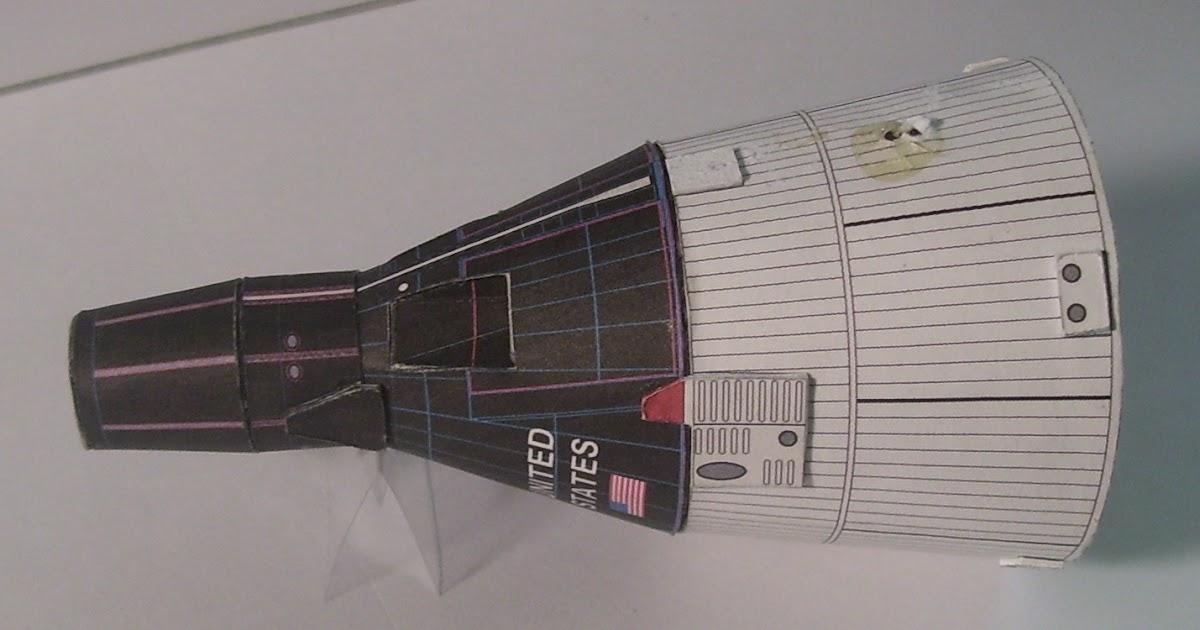 John S Paper Models Etc 1 48 Model Of Gemini Returns To